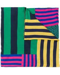 Pierre Louis Mascia - Contrast Stripe Scarf - Lyst
