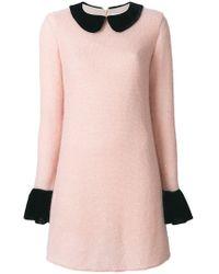 Blanchett Dame - Knitted Mini Dress - Lyst