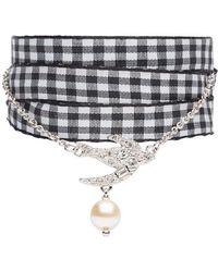 Miu Miu - Ribbon Pendant Bracelet - Lyst