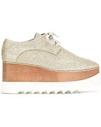 Stella McCartney - Glitter Eylse Platform Shoes - Lyst