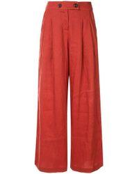 Suboo - Rising Sun Wide Leg Trousers - Lyst