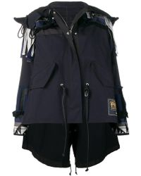 Sacai - Deconstructed Asymmetric Jacket - Lyst