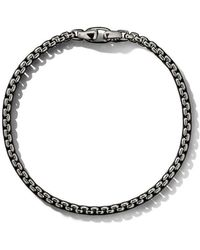 David Yurman - Box Chain Medium Bracelet - Lyst