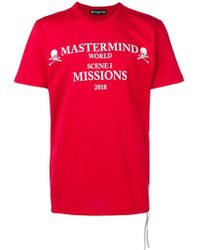 Mastermind Japan - Printed T-shirt - Lyst