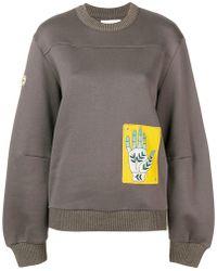 Chloé - Sweatshirt mit Hand-Patch - Lyst