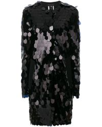 Talbot Runhof - Sequinned Coat - Lyst