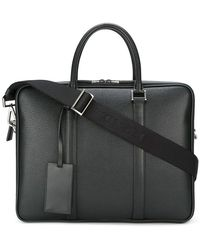Prada - - Classic Briefcase - Men - Leather - One Size - Lyst
