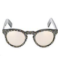 Cutler & Gross - Gafas de sol de montura redonda - Lyst