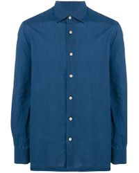 Kiton - Long-sleeve Fitted Shirt - Lyst