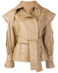 Zimmermann - Tempest Leather Jacket - Lyst