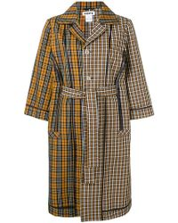 Hope - Checked Belted Coat - Lyst