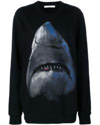 Givenchy - Shark Jersey Jumper - Lyst