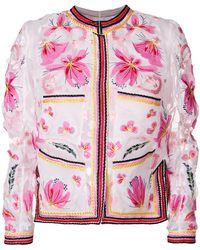 Ermanno Scervino - Embroidered Organza Jacket - Lyst
