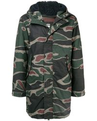 G-Star RAW - Hooded Military Jacket - Lyst