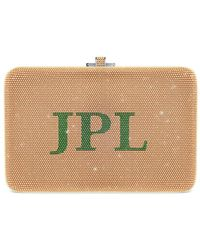 Judith Leiber - Slim Slide Customizable Monogram Bag - Lyst