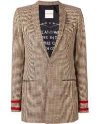 Each x Other - Houndstooth Check Blazer - Lyst