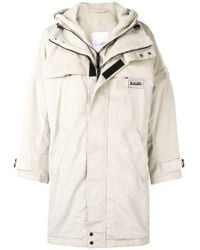 Martine Rose - Oversized Hooded Coat - Lyst