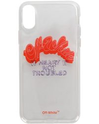 Off-White c/o Virgil Abloh - Logo Iphone X Case - Lyst