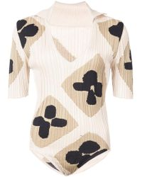 Jacquemus - Plunge Neck Printed Body - Lyst