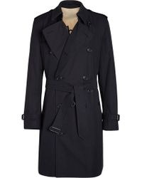 Burberry - Trench lungo - Lyst