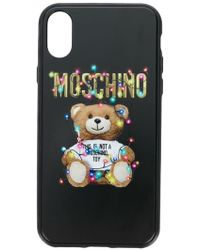 Moschino - Teddy Bear Iphone X Case - Lyst