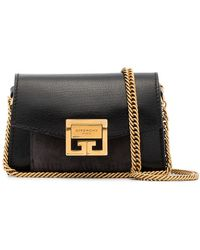 Givenchy Studded Large Shoulder Bag in Black - Lyst 40d110f94a644