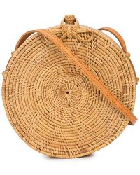 Brother Vellies - Small Disc Satchel Bag - Lyst