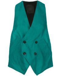 Lost and Found Rooms   Buttoned Over Vest   Lyst