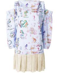 Vivienne Westwood Anglomania - Altitude Mini Dress - Lyst