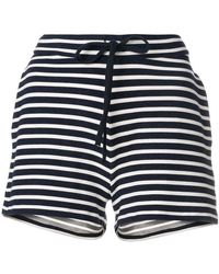 Majestic Filatures - Striped High Waisted Shorts - Lyst