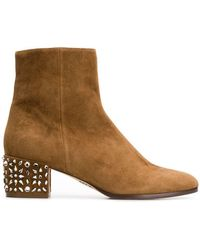 Rodo - Embellished Heel Boots - Lyst