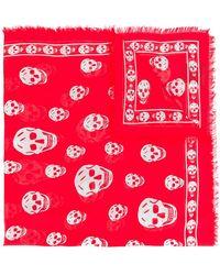d3e10a46e20 Lyst - Foulard Versace Jeans en coloris Rouge