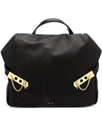 Anthony Vaccarello - Leather Backpack - Lyst