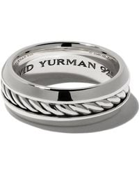 David Yurman - Cable Classic Band Ring - Lyst