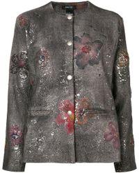 Avant Toi - Paint Splatter Jacket - Lyst