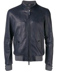 Jacob Cohen - Buttoned Collar Jacket - Lyst