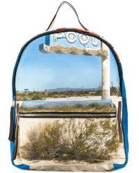 N°21 - Dirt-road Printed Backpack - Lyst