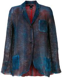 Avant Toi - Faded Pocket Blazer - Lyst