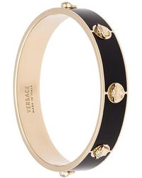 Versace - Medusa Stud Bangle - Lyst