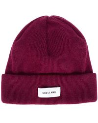Soulland - Classic Beanie - Lyst