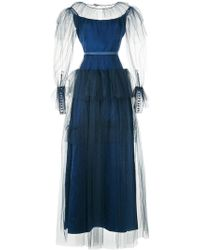 Alexis Mabille - Layered Tulle Evening Dress - Lyst