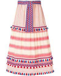 Dodo Bar Or - Striped Skirt - Lyst