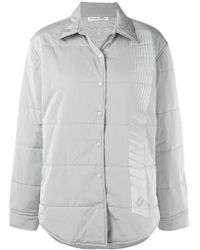 T By Alexander Wang - Quilted Straight Jacket - Lyst