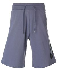 Nike | Sportswear Raw Edge Shorts | Lyst