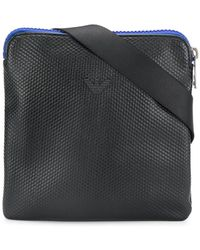 Armani Jeans - Contrasting Zip Messenger Bag - Lyst