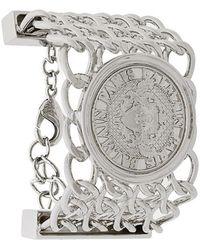 Balmain - Embossed Coin Bracelet - Lyst