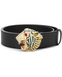 Gucci - Tiger Head Belt - Lyst