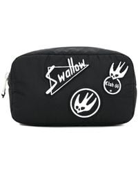 McQ - Swallow Patch Zipped Pouch - Lyst