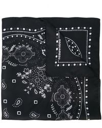 DSquared² - Paisley Scarf - Lyst