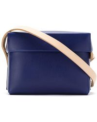 Gloria Coelho - Plastic Bag With Leather Straps - Lyst